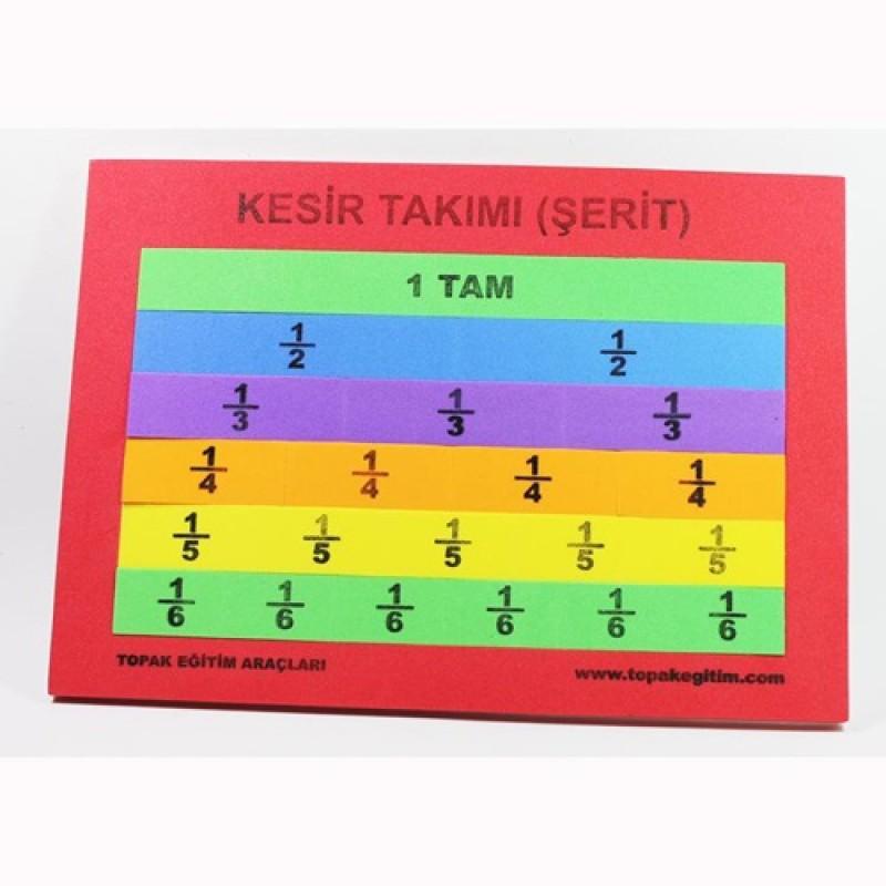 KESİR TAKIMI ŞERİT (A4)