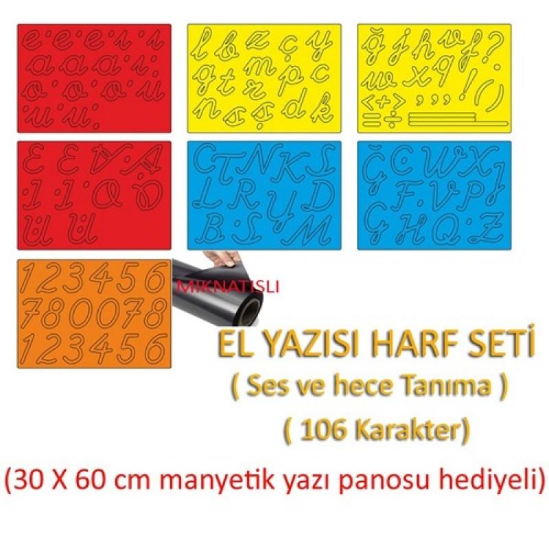 EL YAZISI HARF SETİ